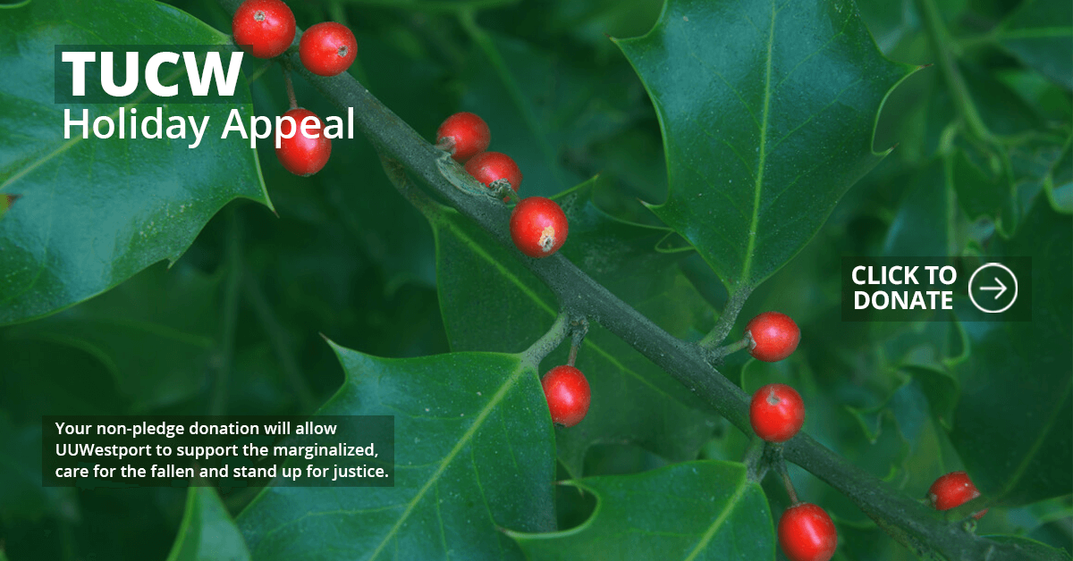 TUCW Holiday Appeal